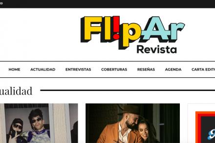 FlipAr,  la revista platense que une Argentina y España