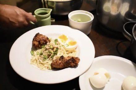 Diego Esteves nos enseña a preparar Sopa Asiática
