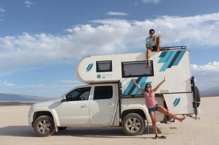 De Ushuaia a Alaska: el viaje de una pareja argentina en camper