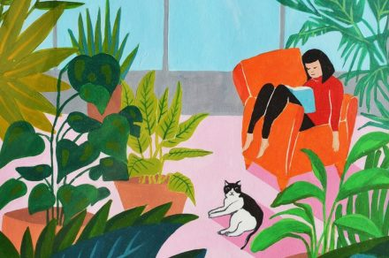 """""""Yo ilustro en casa"""": un concurso en las redes que promueve el arte"""