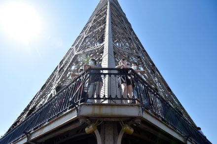 La Torre Eiffel post pandemia