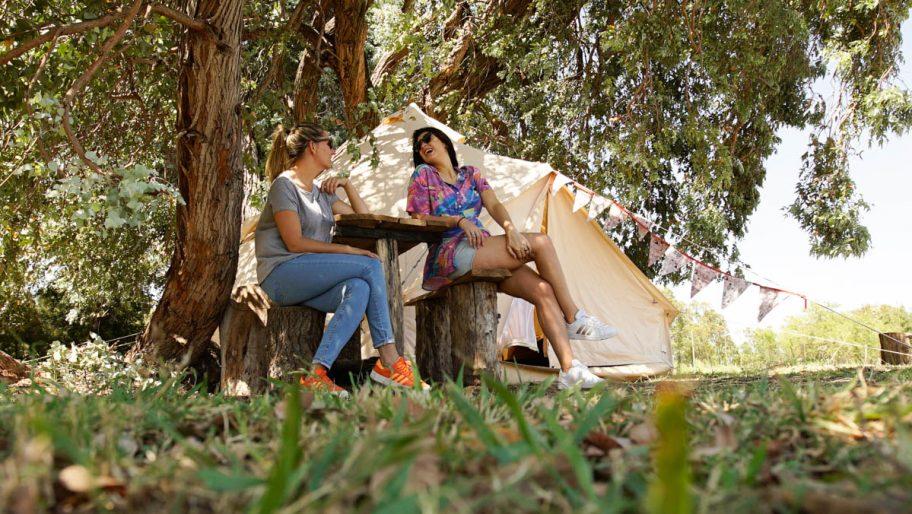 El Refugio: glamping en la Laguna de Lobos