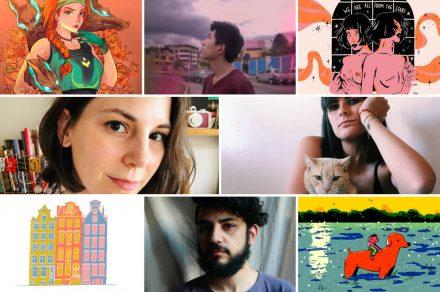 #MePintaIlustrar: Mil-Art, Soy Emi, Juan Pez y Sarah Jones
