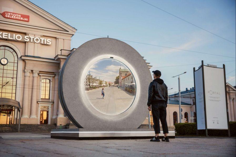 Europa: un portal futurista para conectar ciudades entre sí