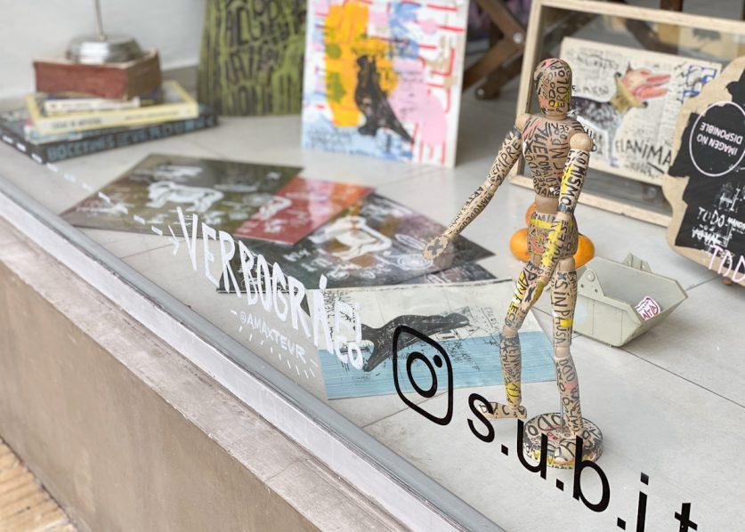Arte en las vidrieras: 3 muestras para ver desde la vereda