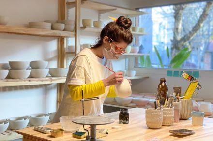 Ermides Pottery: vajilla que dice, café y taller