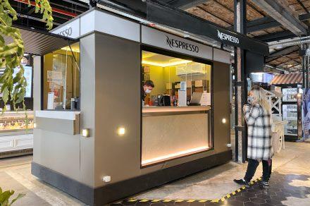 Nespresso desembarca en La Plata con su pop up store
