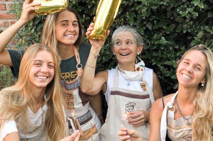 Madre e hijas detrás del éxito de Lemon City Bell