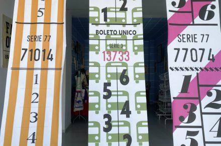 Capicúa: la muestra (en vidriera) de Diego Ibañez Roka